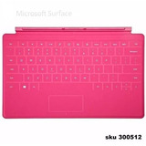 Teclado Microsoft Surface Rt Pro Touch Cover Magenta W01