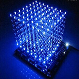 Gikfun 3d Lightsquared Kit Diy 8x8x8 Cubo 3 Mm Led
