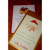 Tarjetas Navideñas Año Nuevo Navidad Ideal Para Regalar.