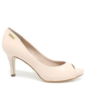 Sapato Dumond Peep Toe Verniz 4108536 | Zariff