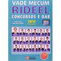 Vade Mecum Rideel 2012 Concursos E Oab 14a Ediçao