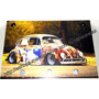 Porta Chaves Mdf Volkswagen Fusca Hot Tuning Carro Rat Look