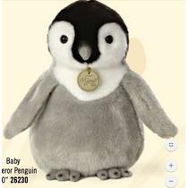 Pinguino Bebe Peluche Aurora Juguete Miyoni 25 Cm