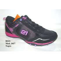 Zapatos Rs21 Deportivos Dama Mod. 3417