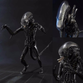 S.h Monsterarts Avp Alien Big Chap Figuarts Original Bandai