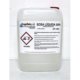 Sosa Liquida (hidroxido De Sodio Al 50%) 1 Ltr