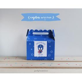 Cajita Sorpresa Bolsita Souvenir Candy Cumpleaños