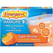 Vitamina C Emergen Plus Super Orange Sistema Inmune