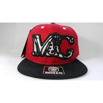 Boné Cap Mc Maffia Original Aba Reta Snapback Hat Aberto A19