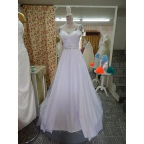 Elegante Y Sencillo Vestido De Novia Línea A Barato Y Bonito