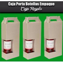 Caja Porta Vino 2 Botellas Porta Botellas Personalizable