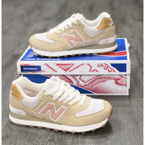 zapatillas new balance color beige