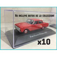 Tapa De Acrilico 1/43 Autos Inolvidables Salvat X 10unidades