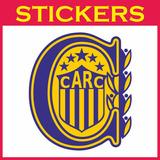 Calco Escudo Rosario Central Vinilo Plotter Sticker