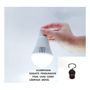 Lâmpada De Emergência - 7w - 6500k - Luz Branca Bivolt Ctb