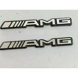 Emblema Mercedes Benz Amg Volante Bocina Clase A C Clk Cls E