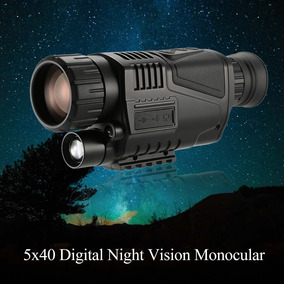 Monocular Wg-37 5x40 Visão Noturna Infravermelho