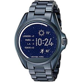 Relogio Michael Kors Mkt5006 Access Touch Digital Azul