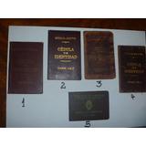 Documento Antiguo Cedula De Identidad Varias A Elegir (2724)