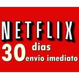 Cartão Pré-pago Netflix Premium Ultra Hd 30 Dias