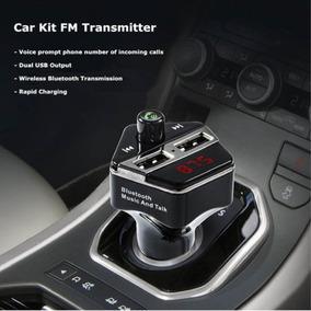 Bluetooth Usb Audio Coche Kit Mp3 Player Transmisor Fm