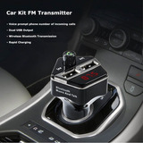 Bluetooth Usb Audio Coche Kit Mp3 Player Transmisor Fm