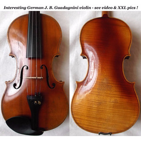 Violino Alemão Antigo Jb Guadagnini 100 Anos