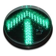 Lampara Led Para Semaforo Vial De 300mm Flecha Color Verde