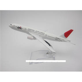 Miniatura Avião Air Jal Japan Airlines Modelo B777 Airlines