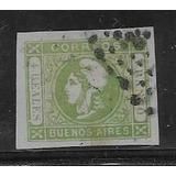 Estampilla : Cabecita De Buenos Aires Gj# 16a