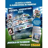 Album Futbol Argentino 2015
