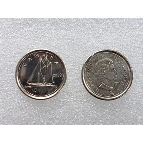 Monedas Canada 10 Centavos - Circuladas
