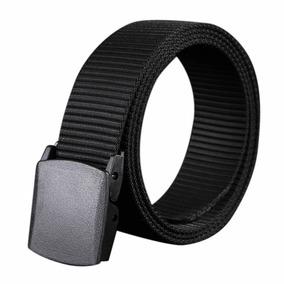 Cinturon Hebilla Plástica Hipoalergenica.