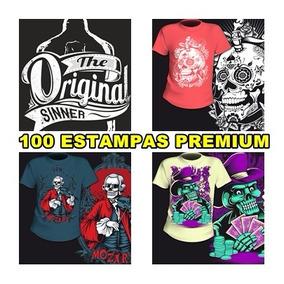 167ca5aaf64be Camiseta Todos Animes 100 Estampa - Informática no Mercado Livre Brasil
