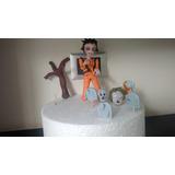 Michael Jackson Thriller Porcelana Fría Decoración De Tortas