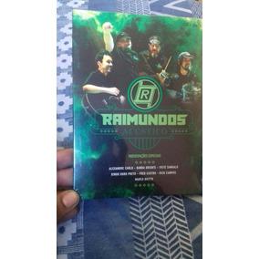 Box Dvd + Cd Raimundos Acústico Lacrado Som Livre