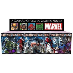 Coleção Marvel Salvat Capa Preta50 Edições Menor Preço Do Ml