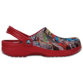 Zapato Crocs Caballero Classic Spiderman Clog