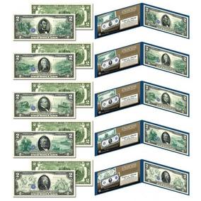Conjunto De Cédulas Comemorativa Reserva Federal 1914