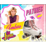 Patines Ambar Soy Luna Disponible Originales Talla 24 Disney