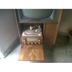 Combinado Televisor Y Tocadiscos !!! Único En Mercado Libre