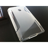Capa Case Silicone Gel Lg Optimus L3 E400 S-type + Película