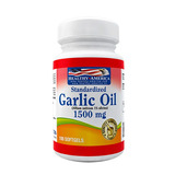 Garlic Oil Aceite De Ajo 1500 Mg X100 Softgels Healthy