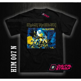 Remeras Iron Maiden Heavy Metal 7. Estampado Digital Unicas!