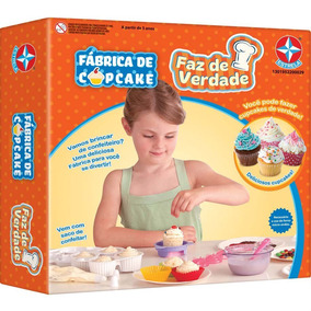 Fábrica De Cupcake Faz De Verdade - Estrela C/ Nota Fiscal