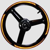 Friso Adesivo Refletivo Curvo Para Moto Carro Modelo Orbital