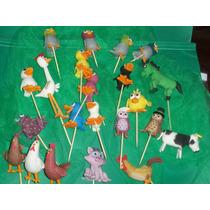 Animales De Canciones De La Granja, ... Para La Torta,