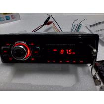Reproductor De Carro Mp3 Usb Sd Lcd Aux Rca Control Remoto