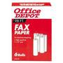 Office Depot Papel Térmico De Fax, 1/2 Pulgadas. Core, 98 P