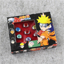 Anel Akatsuki Naruto Shippuden Kit 10 Anéis E Estojo